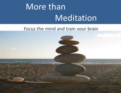 More Than Meditation…. 5 weekly sessions.
